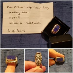 His or her gemstone ring